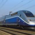 TGV high spped train france