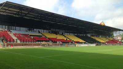 Leo Halle Tribune Go Ahead Eagles brandveilig