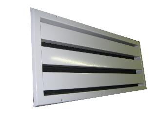 Pyrosone brandwerend akoestisch ventilatierooster