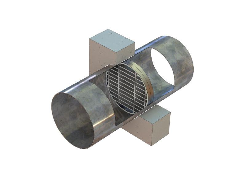 LVC40-Duct-vertical-isometric